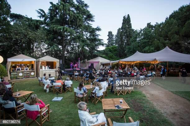 Dolo Beltran performs in concert during Festival Jardins de Pedralbes on June 5 2017 in Barcelona Spain