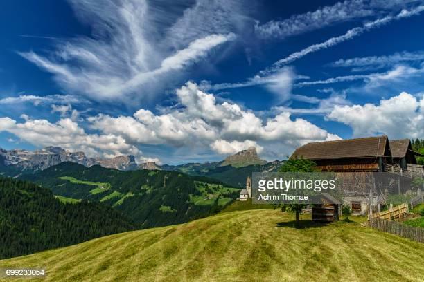 dolomite alps, south tyrol, italy, europe - achim thomae stock-fotos und bilder