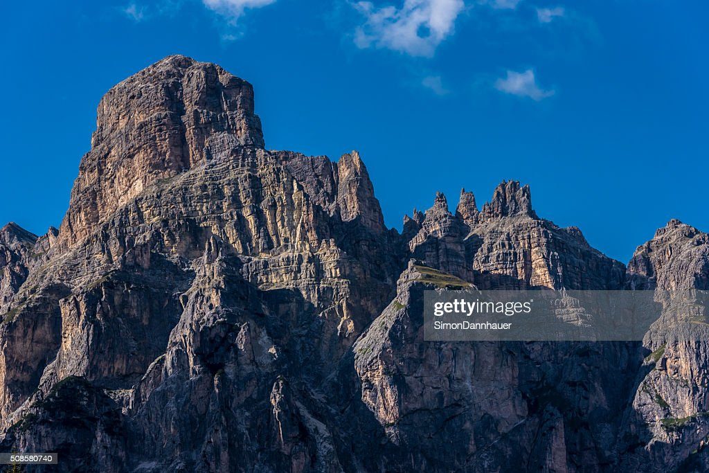 Montagnes des Dolomites, Italie, Passo Sella : Photo
