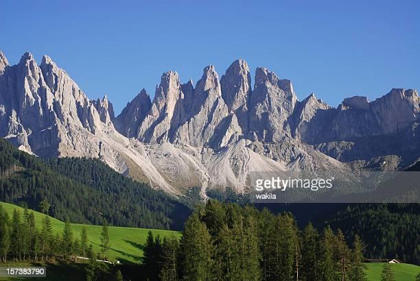Dolomiten-Berge der Alpen