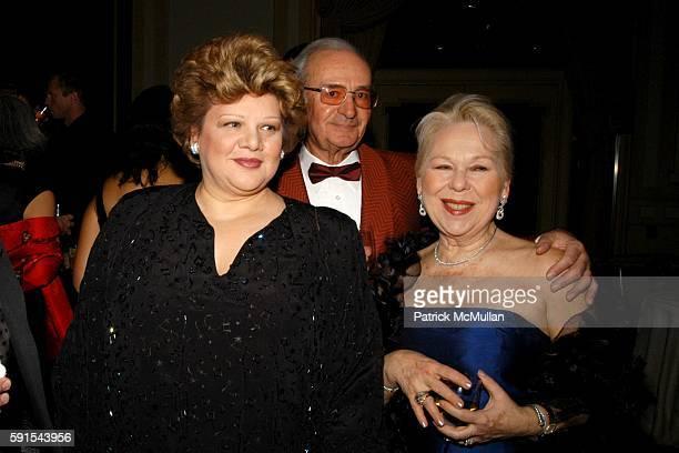 Dolora Zajick Lorenzo Anselmi and Renata Scotto attend The First Annual Opera News Awards at The Pierre on November 20 2005 in New York City