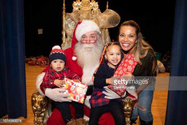 Dolores Catania attend the Cesar DJ Envy's 2018 Holiday Toy Giveaway on December 21 2018 in Paterson New Jersey