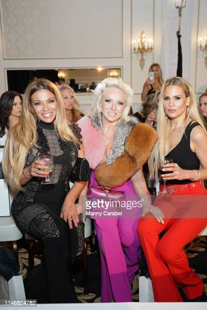Dolores Catania, Margaret Josephs and Jackie Goldschneider attend the Envy By Melissa Gorga Fashion Show on May 03, 2019 in Hawthorne, New Jersey.