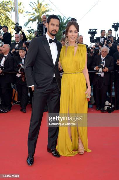 Dolores Chaplin and guest attend the Opening Ceremony and 'Moonrise Kingdom' Premiere during the 65th Annual Cannes Film Festival at the Palais des...