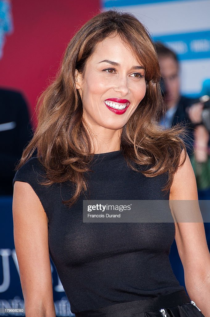 Dolores Chaplin arrives at the 'Snowpierce' Premiere and closing ceremony of the 39th Deauville American Film Festival on September 7, 2013 in Deauville, France.