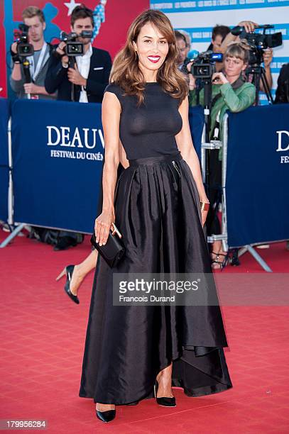 Dolores Chaplin arrives at the 'Snowpierce' Premiere and closing ceremony of the 39th Deauville American Film Festival on September 7 2013 in...