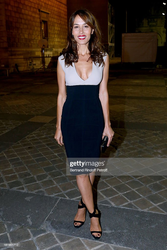 Dolores Chaplin arriving at Lanvin show as part of the Paris Fashion Week Womenswear Spring/Summer 2014, held at 'Ecole des beaux Arts' on September 26, 2013 in Paris, France.