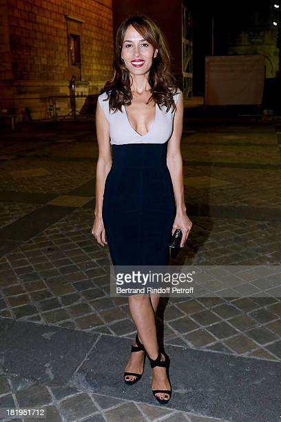 Dolores Chaplin arriving at Lanvin show as part of the Paris Fashion Week Womenswear Spring/Summer 2014 held at 'Ecole des beaux Arts' on September...