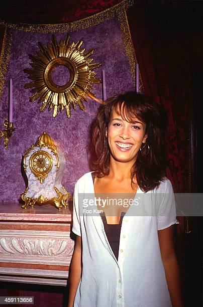 Dolores Chaplin attends a fashion week Party at Les Bains Douches in the 1990s in Paris France