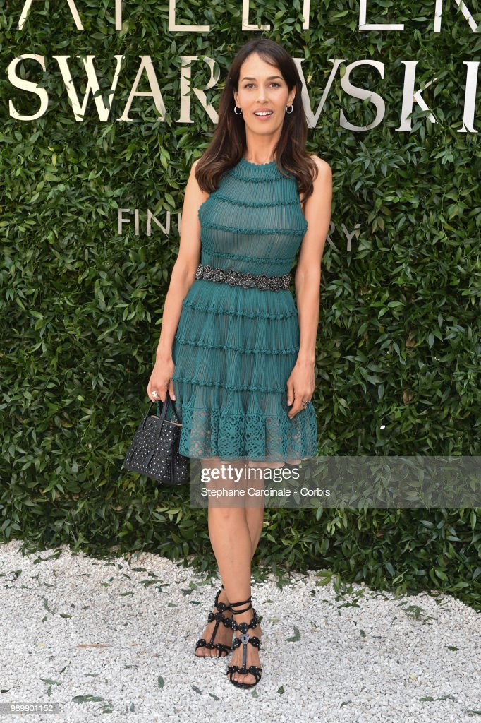 Dolores Chaplin attends the Atelier Swarovski : Cocktail Of The New Penelope Cruz Fine Jewelry Collection as part of Paris Fashion Week on July 2, 2018 in Paris, France.
