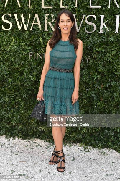 Dolores Chaplin attends the Atelier Swarovski Cocktail Of The New Penelope Cruz Fine Jewelry Collection as part of Paris Fashion Week on July 2 2018...