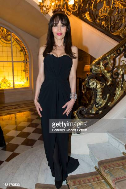 Dolores Chaplin attends the 'CR Fashion Book Issue 2' Carine Roitfeld Cocktail as part of Paris Fashion Week at Hotel ShangriLa on March 5 2013 in...