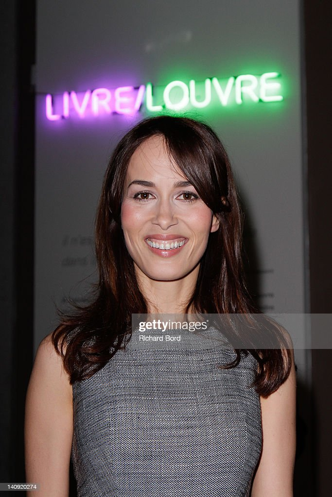 Dolores Chaplin attends the 'Livre/Louvre' Exhibition Launch at Musee du Louvre on March 7, 2012 in Paris, France.