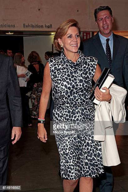 Dolores de Cospedal attends the '65th Premio Planeta' Literature Award the most valuable literature award in Spain with 601000 euros for the winner...