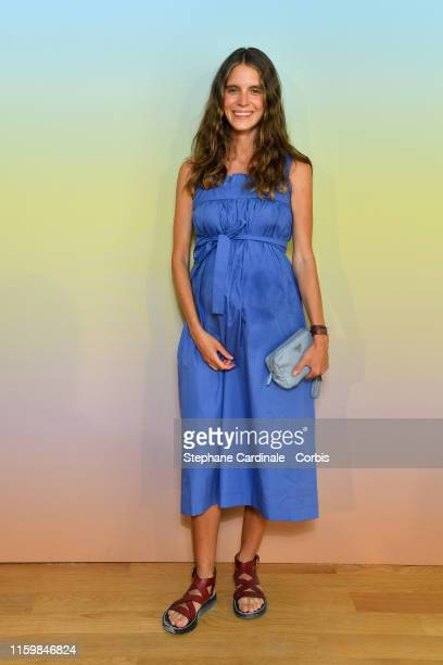 Dolores Doll attends the Bonpoint show Spring Summer 2020 as part of Paris Fashion Week on July 03 2019 in Paris France