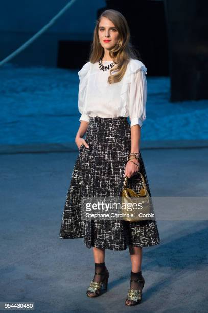 6df10ba1dd8f Dolores Doll attends the Chanel Cruise 2018/2019 Collection at Le Grand  Palais on May