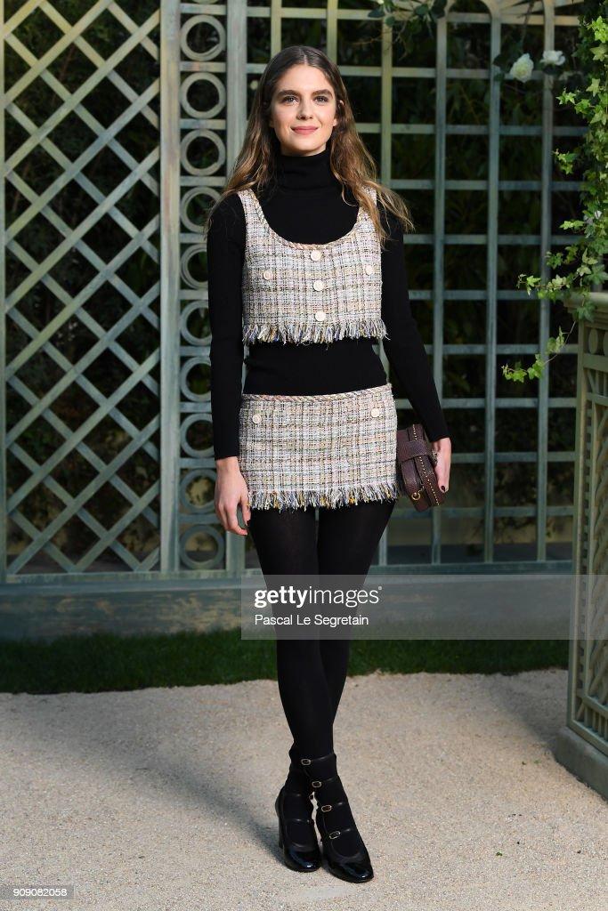 0950dc0778baa5 Chanel : Photocall - Paris Fashion Week - Haute Couture Spring Summer 2018  : News Photo