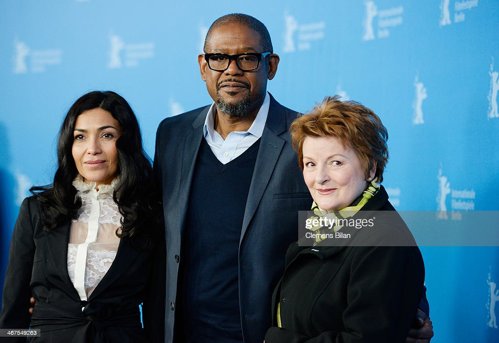 Dolores Heredia, Forest Whitaker and Brenda Blethyn attend the 'Two Men in Town' (La voie de l'ennemi) photocall during 64th Berlinale International Film Festival at Grand Hyatt Hotel on February 7, 2014 in Berlin, Germany.