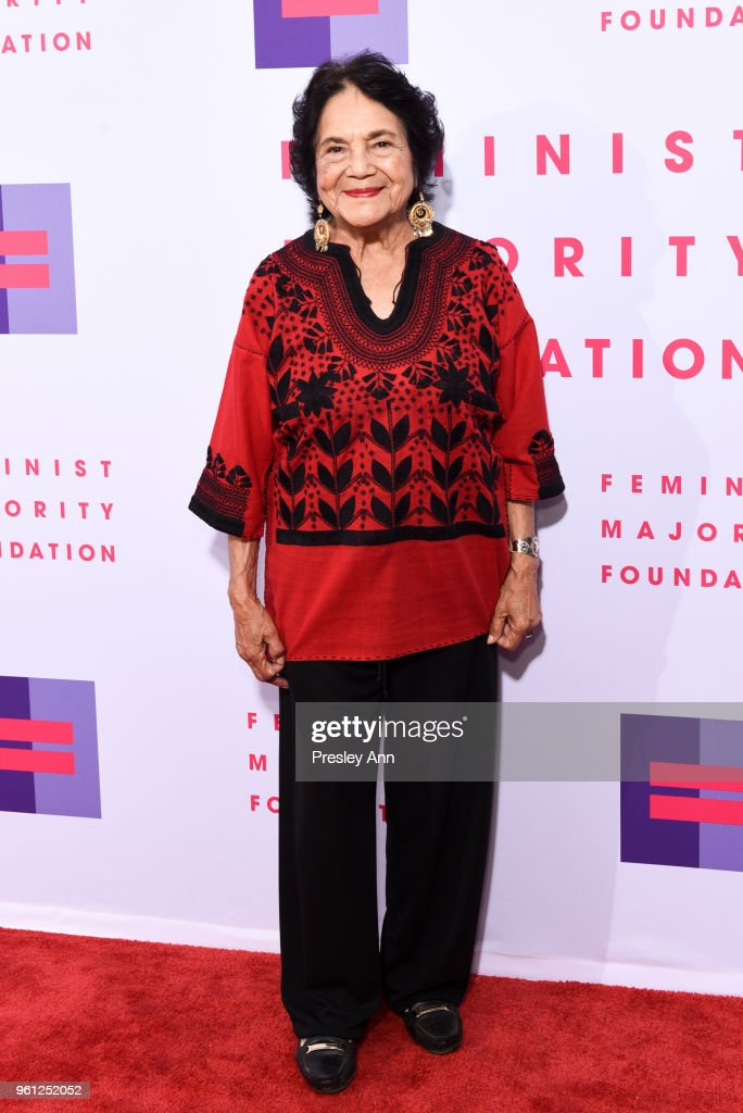 Dolores Huerta attends 13th Annual Global Women's Rights Awards at Wallis Annenberg Center for the Performing Arts on May 21, 2018 in Beverly Hills, California.