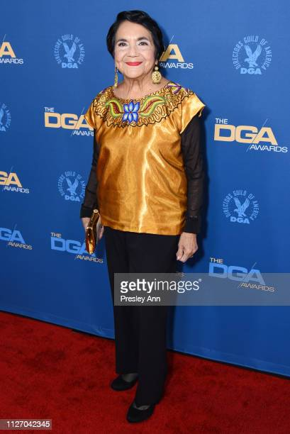 Dolores Huerta attends 71st Annual Directors Guild Of America Awards at The Ray Dolby Ballroom at Hollywood Highland Center on February 02 2019 in...