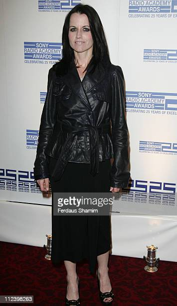 Dolores O'Riordan during Sony Radio Academy Awards 2007 - Outside Arrivals at Grosvenor House Hotel in London, United Kingdom.