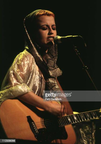 Dolores O'Riordan of Cranberries during Cranberries in Concert at Beacon Theater 1994 at Beacon Theater in New York City New York United States