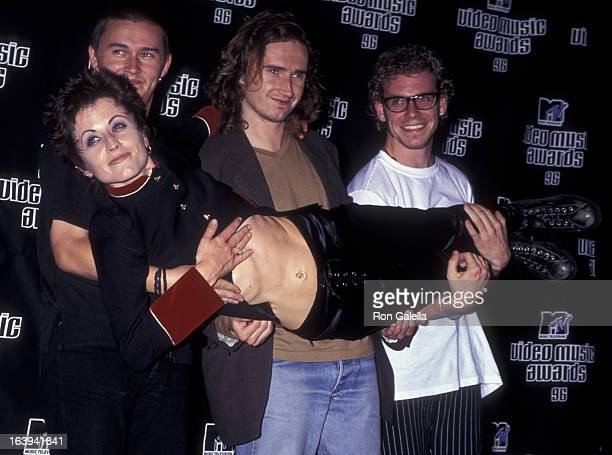 Dolores O'Riordan of the Cranberries attend 13th Annual MTV Video Music Awards on September 4 1996 at Radio City Music Hall in New York City