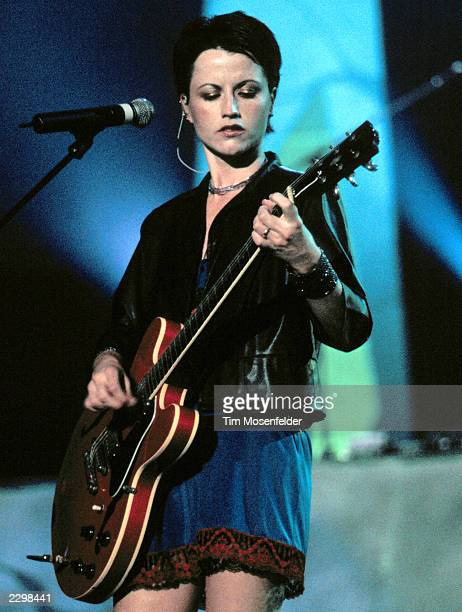 Dolores O'Riordan of The Cranberries performing at Shoreline Amphitheater in Mountain View Calif. On September 18th, 1999. Image By: Tim...