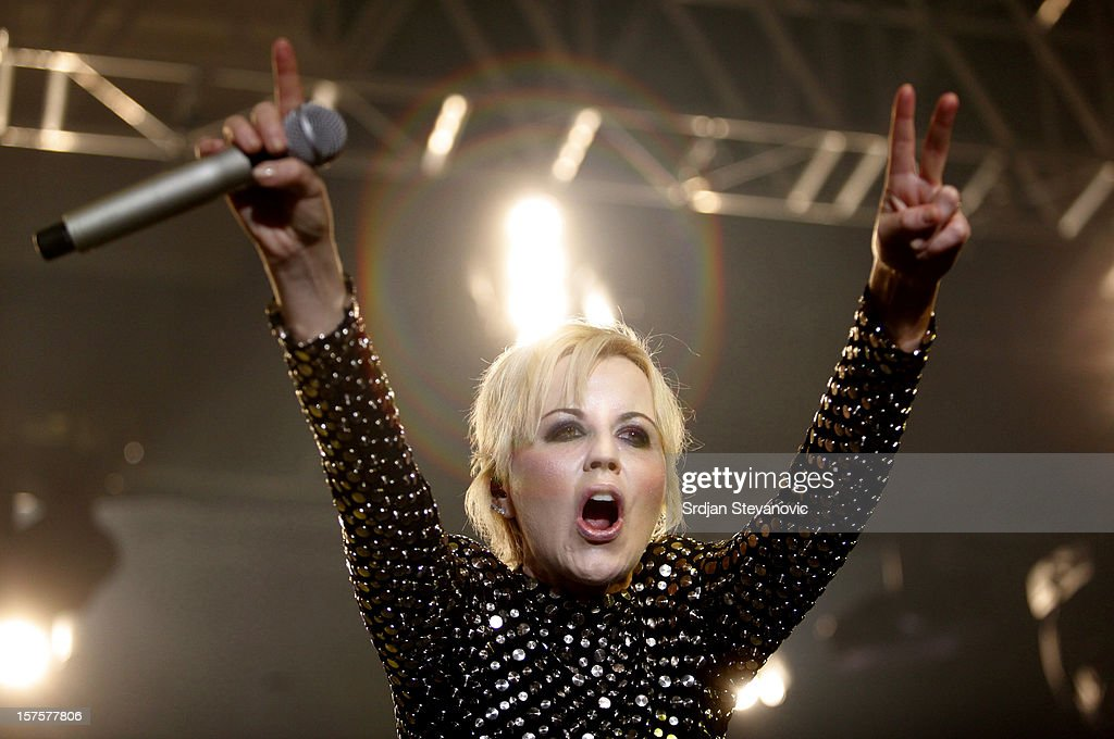 The Cranberries Perform At The Sports Hall, Belgrade
