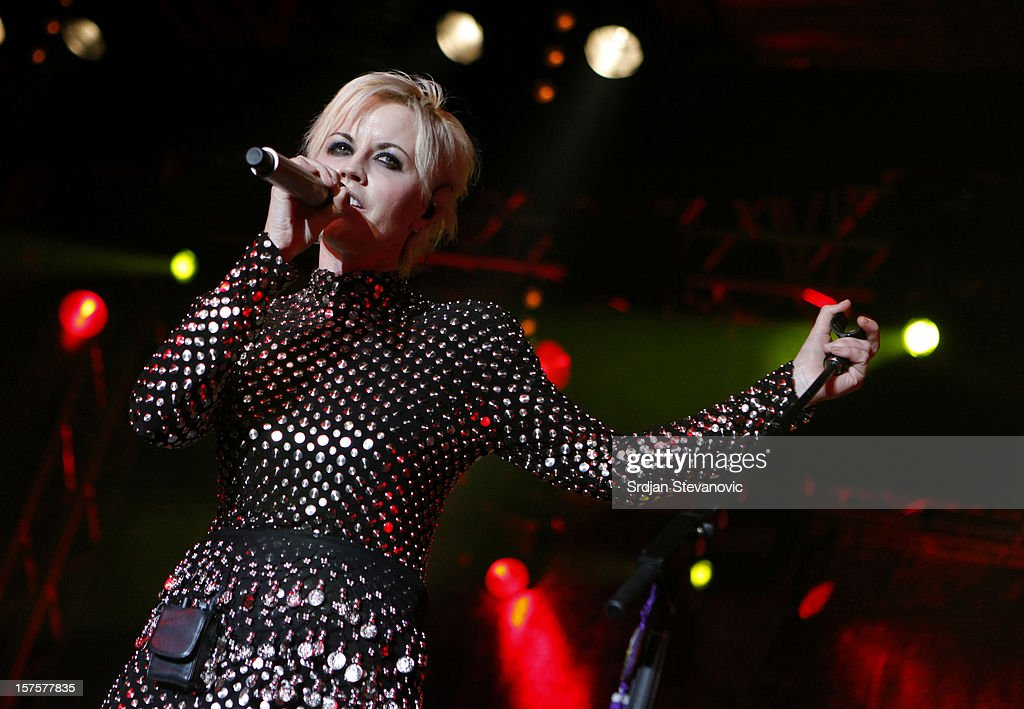The Cranberries Perform At The Sports Hall, Belgrade : News Photo