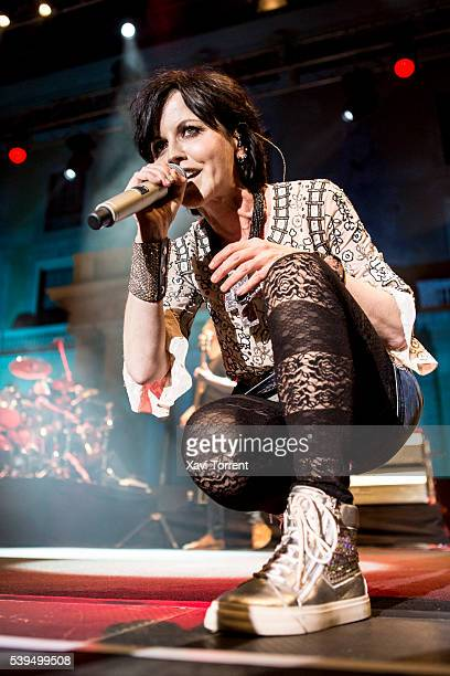 Dolores O'Riordan of The Cranberries performs in concert during Festival Jardins de Pedralbes on June 11, 2016 in Barcelona, Spain.