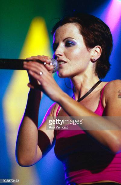 Dolores O'Riordan of The Cranberries performs on stage at Ahoy Rotterdam Netherlands 1st November 1999