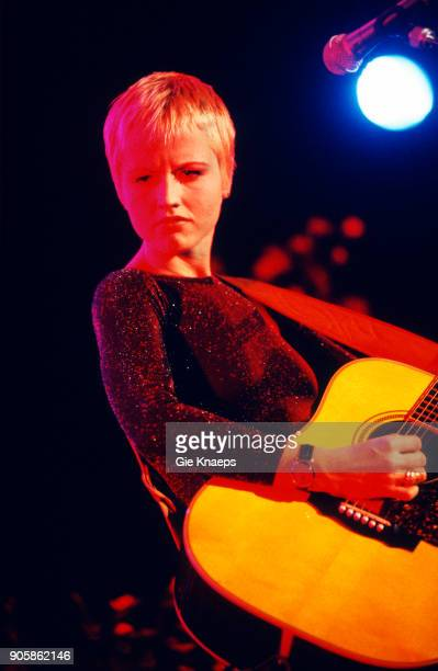 Dolores O'Riordan of The Cranberries performs on stage, Botanique, Brussels, Belgium, .