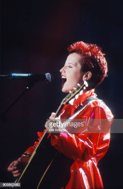 Dolores O'Riordan of The Cranberries performs on stage, Torhout/Werchter Festival, Werchter, Belgium, .
