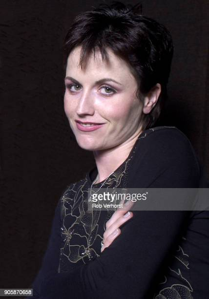 Dolores O'Riordan of The Cranberries portrait at Wisseloord Studios Hilversum Netherlands 24th September 2001