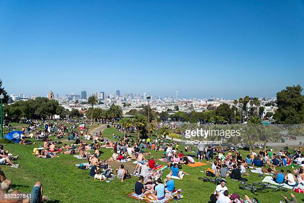 Dolores Park Horizontal Busy Day