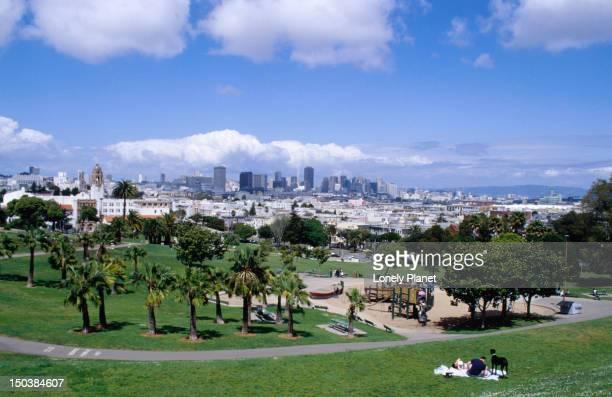 Dolores Park in San Francisco.