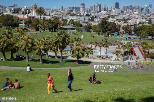 Dolores Park in The Mission
