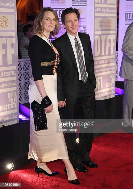 Dolores Rice and actor Andrew McCarthy attend the Opening Night Gala during the 2010 Doha Tribeca Film Festival held at the Katara Opera House on...