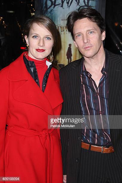 Dolores Rice and Andrew McCarthy attend New York Special Screening of PARAMONT PICTURES' and NICKELODEON MOVIES' THE SPIDERWICK CHRONICLES at AMC...