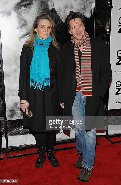 Dolores Rice and Andrew McCarthy attend the Green Zone New York premiere at AMC Loews Lincoln Square 13 on February 25 2010 in New York City