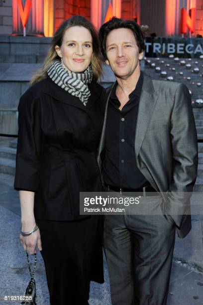 Dolores Rice and Andrew McCarthy attend VANITY FAIR TRIBECA FILM FESTIVAL Opening Night Dinner Hosted by ROBERT DE NIRO, GRAYDON CARTER and RONALD...