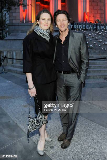 Dolores Rice and Andrew McCarthy attend VANITY FAIR TRIBECA FILM FESTIVAL Opening Night Dinner Hosted by ROBERT DE NIRO GRAYDON CARTER and RONALD...