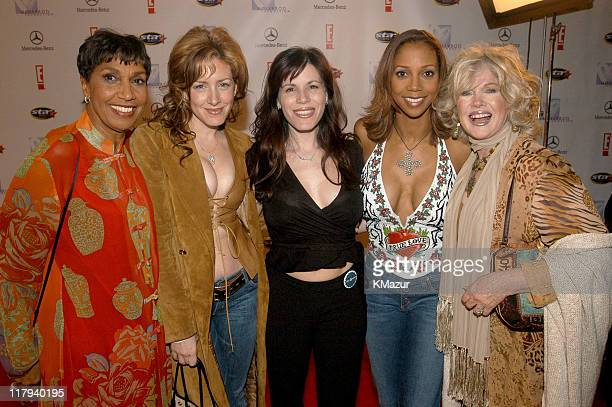 Dolores Robinson Joely Fisher Tricia Leigh Fisher Holly Robinson Peete and Connie Stevens
