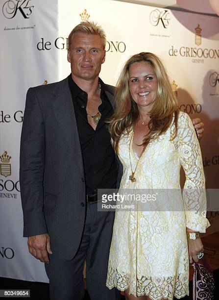 Dolph Lundgren and wife Anette QvibergLundgren