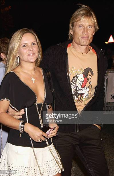 Dolph Lundgren Wife Stock Photos and Pictures