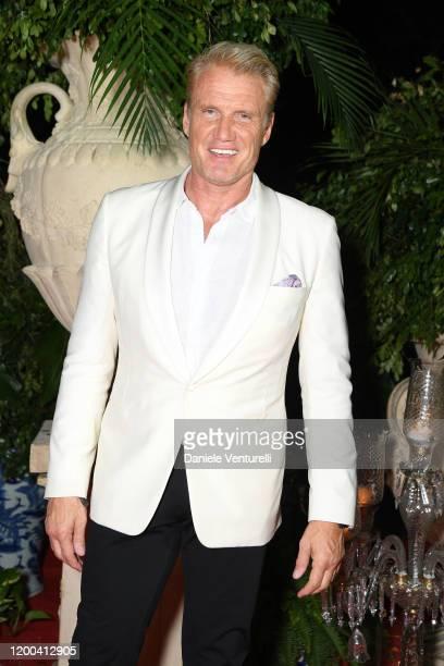 Dolph Lundgren attends Cana Dorada Film & Music Festival - Casino Night: TV Shows Night on January 18, 2020 in Punta Cana, Dominican Republic.