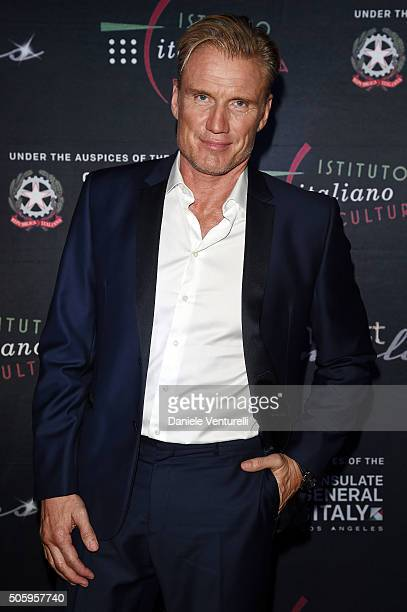 Dolph Lundgren attends Cocktail Party Celebrating 1th Taormina Film Fest Los Angeles 2016 at Italian Cultural Institute Of Los Angeles on January 21...