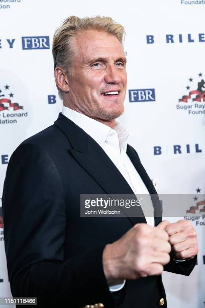 Dolph Lundgren attends Sugar Ray Leonard Foundation's 10th Annual 'Big Fighters, Big Cause' Charity Boxing Night at The Beverly Hilton Hotel on May...
