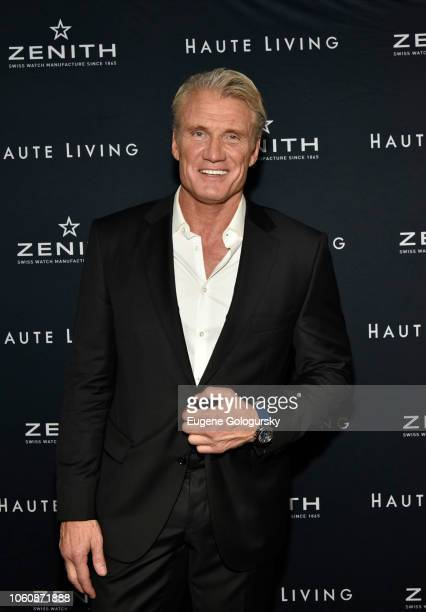 Dolph Lundgren attends the Haute Living And Zenith Honor Dolph Lundgren at Mr Chow in Tribeca on November 12 2018 in New York City